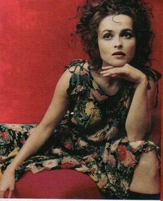 Helena Bonham Carter - my favorite actress. The first movie I saw her in was Hamlet