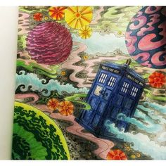 from the Doctor Who Coloring Book | Coloring Book Pages | Pinterest ...