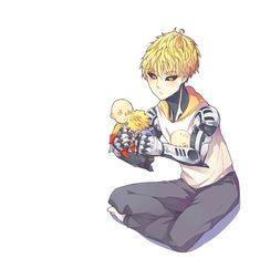 Genos being adorable | One Punch Man