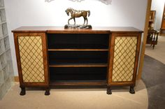 A beautiful Regency Period rosewood antique side cabinet.
