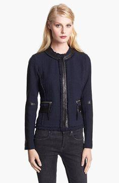 Crop Tweed Jacket