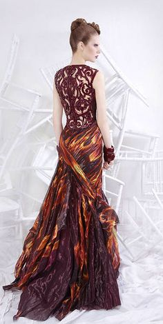 What Daenerys would wear, With Fire and Blood! Nicolas Jebran