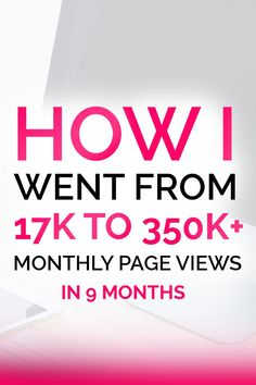 Blogging tips: By far one of the best ebooks I've ever read!! Lena talks about how she went from 17K to 350K+ blog views per month in just 9 months! If you want to learn how to get more traffic and increase page views, this ebook is filled with tips and growth ideas to