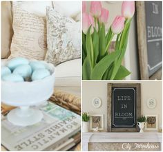 Gorgeous Spring Decor from City Farmhouse