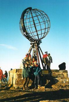 3 tjejer på tur till Nordkap
