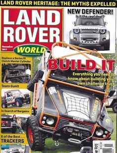 Land Rover magazine DIY truck build Defender Best trackers Clutch cylinder