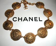Authentic Chanel Vintage 31 Rue Cambon Gold Plate by PurseAngels, $738.00