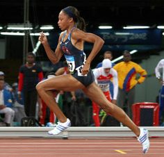 USA Track & Field - Allyson Felix - Super talented gold medalist sprinter - and D*MN, those legs are rockin.