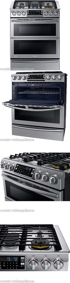 Ranges and Stoves 71250: Samsung Stainless 30 Dual-Fuel Slide-In Range With Flex Duo Door Ny58j9850ws -> BUY IT NOW ONLY: $2799 on eBay!