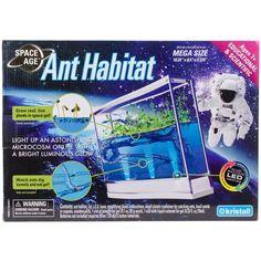 Kristal Educational Space Age Ant Habitat - Large-