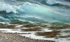 Seascapes Paintings | Seascape painting: