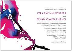 Chic Summer Invites from Wedding Paper Divas - Project Wedding