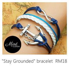 Stay Grounded Bracelet RM18