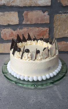 Vanília torta - Tejturmix Smoothie Fruit, No Bake Cake, Vanilla Cake, Cookies, Sweet, Dad Birthday, Recipes, Food, Events