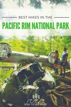From popular tourist hikes to those more wild and unknown, here are some of the best hikes in the Pacific Rim National Park near Tofino. Canada National Parks, Parks Canada, Lanai Island, Island Beach, Tonga, Funny Beach Pictures, Beach Photos, Fiji Travel, Travel List