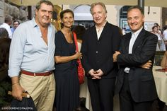 July 15, 2010 - Alan Rickman at a presentation of Bottle Shock in Florence, Italy. Copyright © Domenico Palopoli and unknown