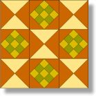 Quilt Blocks of the States - Kentucky Patch - Quilting
