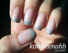 sparkling wedding nails image of Bridal Nail Designs ♥ Wedding Nail Art