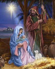 O Holy Night ❤️ the birth of our Lord Jesus ❤️ Christmas Nativity Scene, Christmas Scenes, Christmas Pictures, Nativity Scenes, Merry Christmas Jesus, Christmas Prayer, Christmas Greetings, Christmas Christmas, Religious Pictures