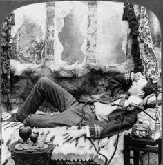Lotus eaters, opium smokers, and dens of iniquity.