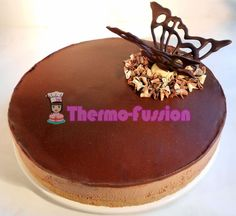 TARTA MOUSSE DE CHOCOLATE FÁCIL THERMOMIX ← thermo fussion cook Bellini, Cooking, Cake, Desserts, Gluten, Food, Meal, Chocolate Cobbler, Pastries