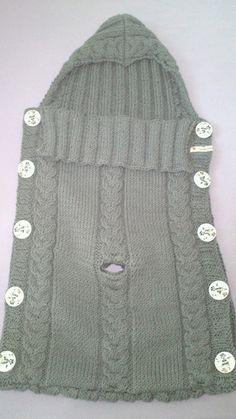 Baby Schlafsack mit öffnung für den gurt des Maxi Cosi's