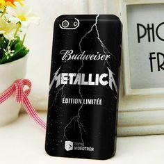Metallica Beer Can Case iPhone 4 5 5s 6 6s plus Samsung S Note iPod 5 HTC Case #UnbrandedGeneric