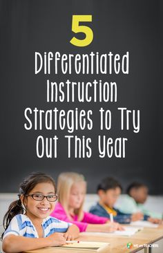 Differentiated Instruction Strategies to Try Out This Year Definitely worth checking out. These tips are adapted from a few of our favorite PD books.Definitely worth checking out. These tips are adapted from a few of our favorite PD books. Differentiated Instruction Strategies, Differentiation Strategies, Differentiation In The Classroom, Teaching Strategies, Teaching Tips, Avid Strategies, Teaching Techniques, Teaching Activities, Creative Teaching