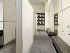 Digilock's Celare lockers in the Armani Hotel Spa in Dubai Armani Hotel Dubai, Spa Luxe, Locker Designs, Luxury Gym, Hotel Gym, Dressing Room Design, Gym Room, Spa Design, Changing Room