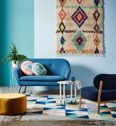 ARRO Home: The Oscar Sofa, Ellipsoid Lounge Chair and Aloft Ottoman