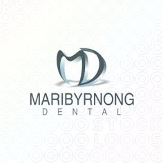 modern logo that is simplistic but gets the subject of who she is and what she does with the M shaped as a tooth (love that)