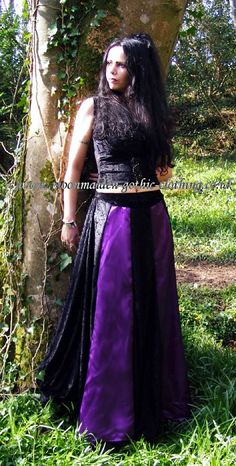 Moonmaiden Gothic Clothing - Lily Skirt