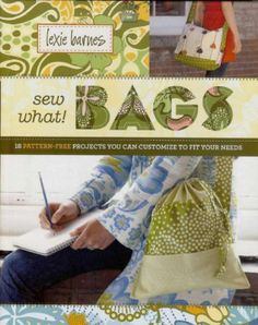 Fabric and Sewing - Many small bag, pouch and purse projects.
