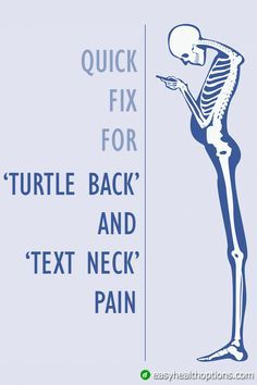 """When I see people with forward-rounded shoulders it's usually a sign of two posture problems: first rounded upper back commonly called """"turtle back"""" and a forward leading head posture now commonly called """"text neck."""" These 3 simple maneuvers can save Neck And Shoulder Exercises, Posture Exercises, Back Pain Exercises, Neck And Shoulder Pain, Neck And Back Pain, Upper Back Stretches, Sore Neck And Shoulders, Upper Back Pain, Yoga For Back Pain"""