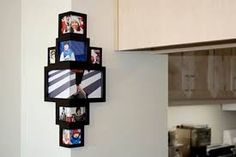 Resultado de imagen para portaretratos de fotografias multiples manualidades