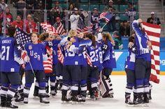 Teaching Activities for: U.S. Women Break Canadas Grip on Hockey Gold