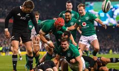The All Blacks have not lost a Rugby World Cup match in 12 years but Steve Hansen will be wary of the men in green Rugby Highlights, Steve Hansen, Ireland Rugby, Basketball Quotes, Soccer, Volleyball, World Cup Match, New Zealand Rugby, Girl Fashion Style