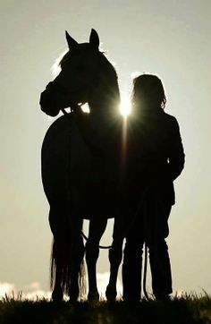 Nothing like the love between a girl and her horse...