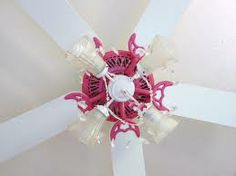 turn your ugly ceiling fan into a cute diy chandelier | Around the ...
