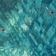 Global warming swimming pool ad