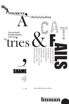 typography poem