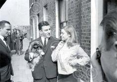 Reggie Kray and Frances Shea, 1st April 1965.