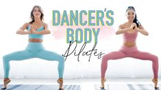 Dancer's Body Pilates Workout with Julianne Hough Pop Pilates, Pilates Barre, Pilates Workout, Butt Workout, Cardio, Dancers Body, Thigh Exercises, Stretches, Fun Workouts