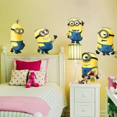 Minnions in my room