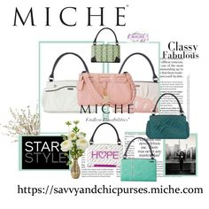 Classy & Fabulous Miche handbags https://savvyandchicpurses.miche.com