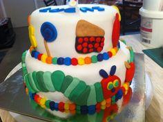 The hungry caterpillar cake  tiersoflove.com