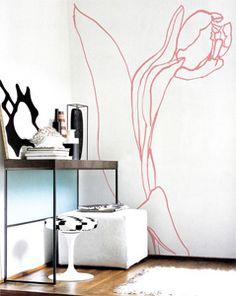 Beautiful wallpaper by Penelope Rolland  TrafficNYC
