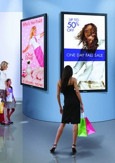 Engaging digital signage systems