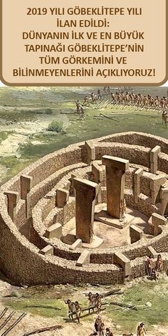 2019 is declared the year of & we explain all the glory and unknowns of the world& first and biggest temple, Göbeklitepe! History Icon, Women In History, History Facts, World History, Black History, Ancient Mysteries, Ancient Artifacts, Ancient Aliens, Ancient History