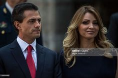 Enrique Peñ–a Nieto, President of Mexico talks with Charles Prince of Wales…